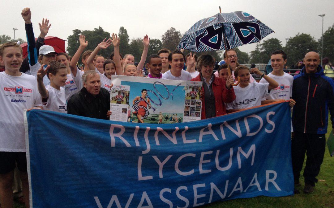 Sponsorloop Rijnlandslyceum, 23 september 2016