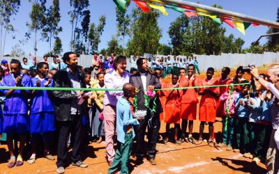 Sportveld St. Anthonyschool Ethiopië
