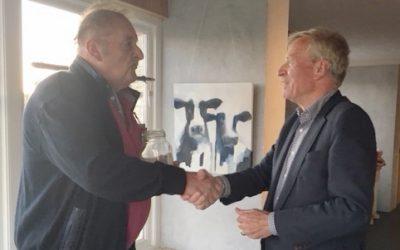 Jaap Bos schenkt zijn verjaardagscadeau aan LH
